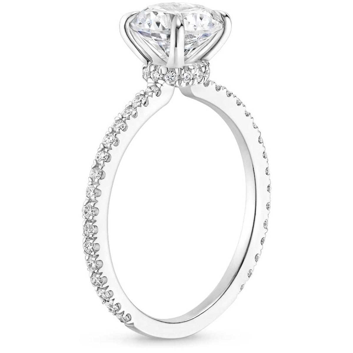 Demi Diamond Engagement Ring