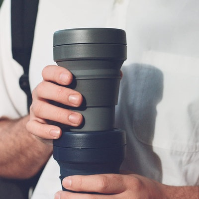 Stojo Collapsible Silicone Coffee Cup