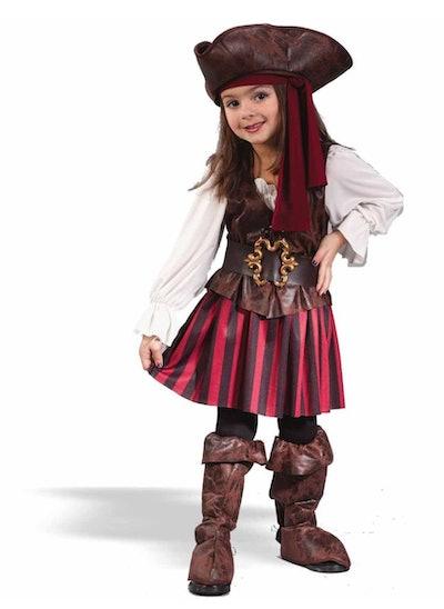 Pirate Toddler Girl Halloween Costume