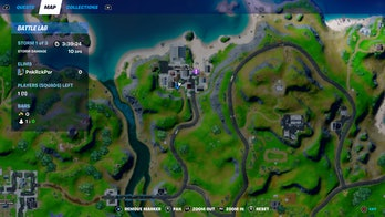 fortnite superman phone booth location 3 map