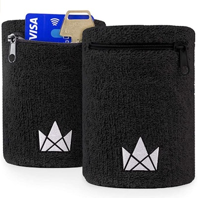 The Friendly Swede Sweatband with Zipper Pocket (2-Pack)