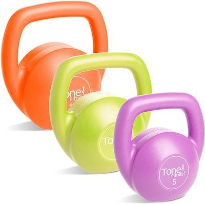 Tone Fitness Kettlebell Body Trainer Set