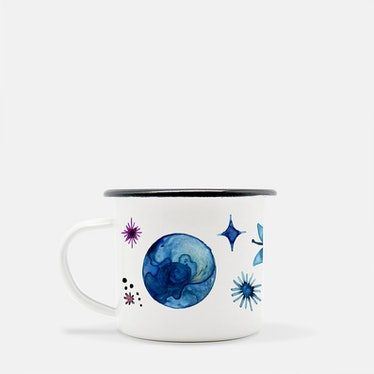 Celestial Enamel Mug