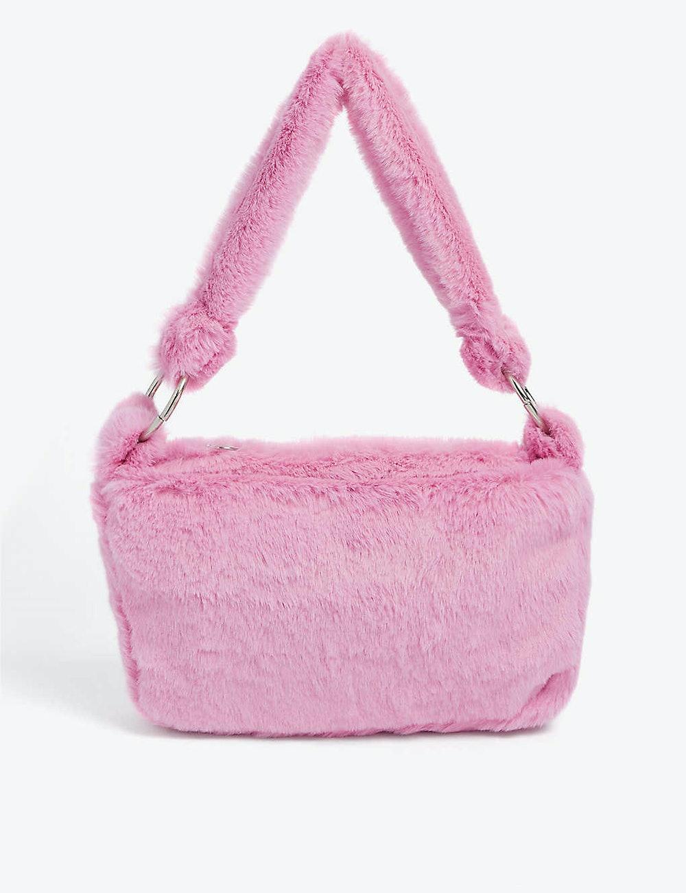 Eden mini faux-fur shoulder bag