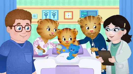Daniel Tiger meets the doctor who will perform his operation in a brand new episode of 'Daniel Tiger...