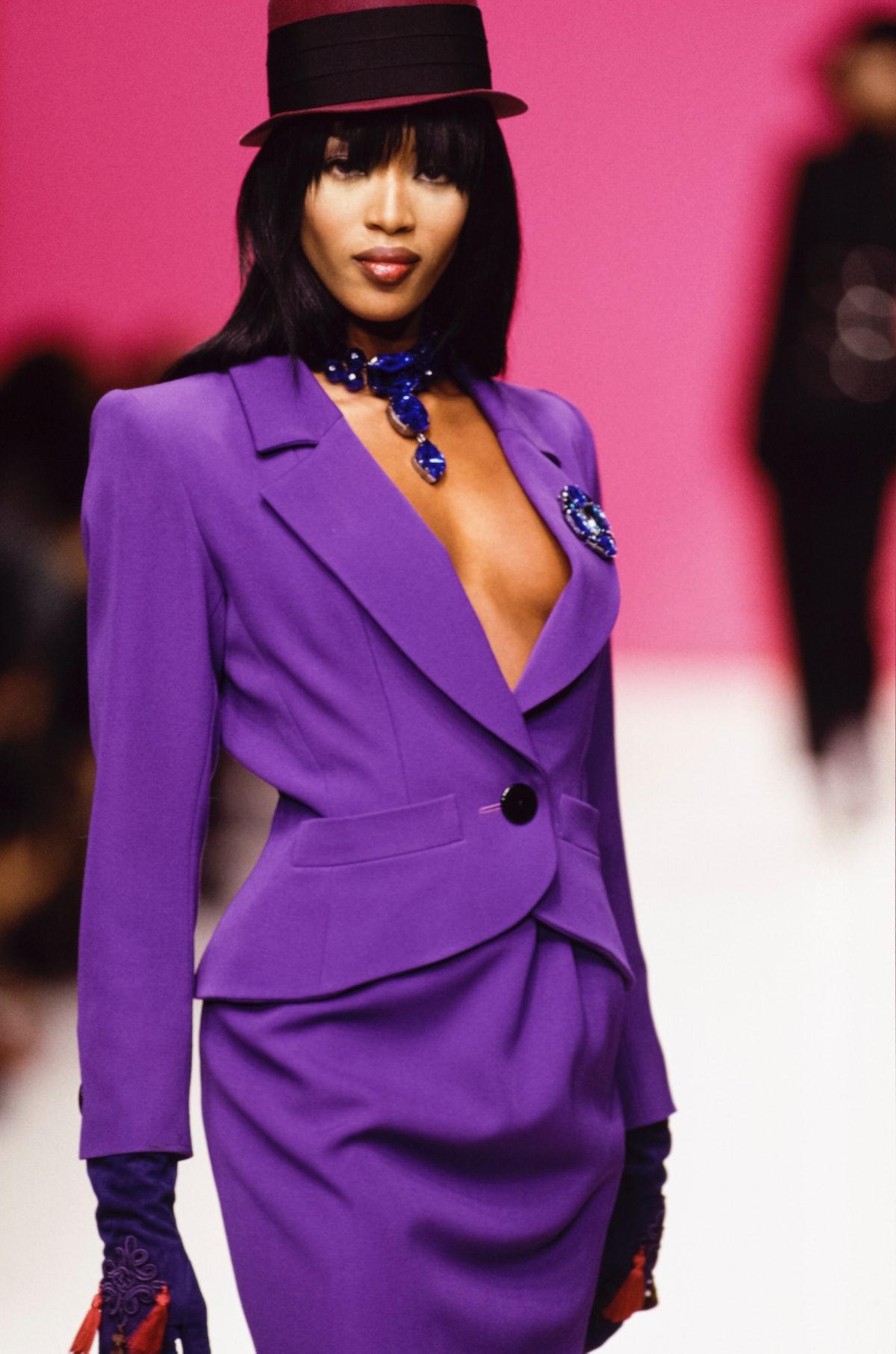 Naomi Campbell Yves Saint-Laurent, 1995