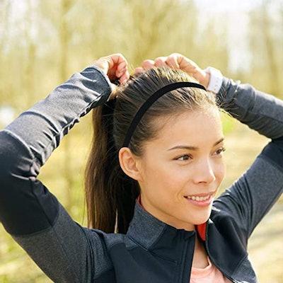 Tough Outdoors Elastic Thin Sports Headbands (6-Pack)