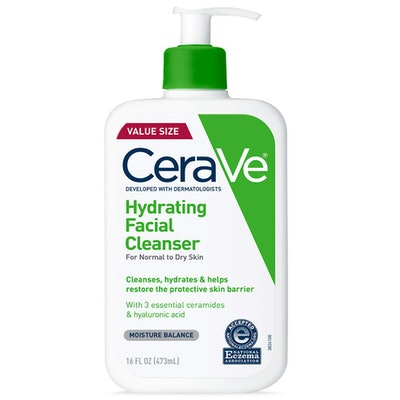 CeraVe Hydrating Facial Cleanser, 16 Oz.