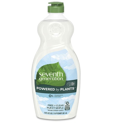 Seventh Generation Dish Soap Free & Clear, 19 Oz. (6-Pack)
