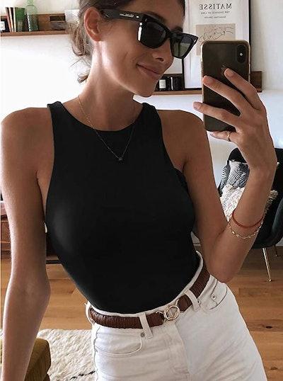 ReoRia Halter-Neck Bodysuit
