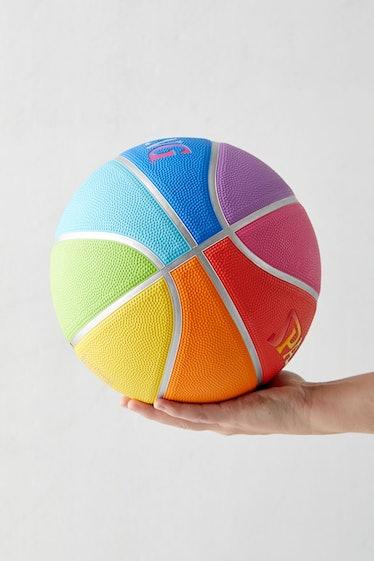 Spalding UO Exclusive Rainbow Basketball