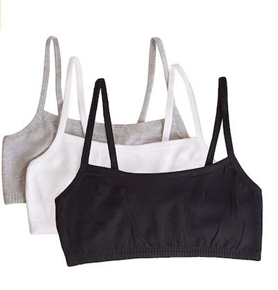 Fruit of the Loom Pullover Sports Bra (3-Pack)