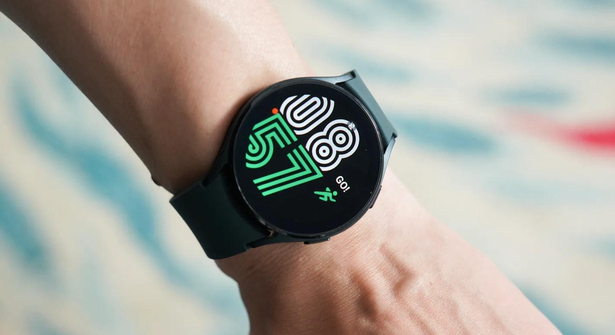 Samsung Galaxy Watch 4 with new Wear OS 3