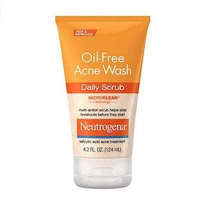 Neutrogena Oil-Free Acne Face Scrub, 4.2 Fl. Oz.