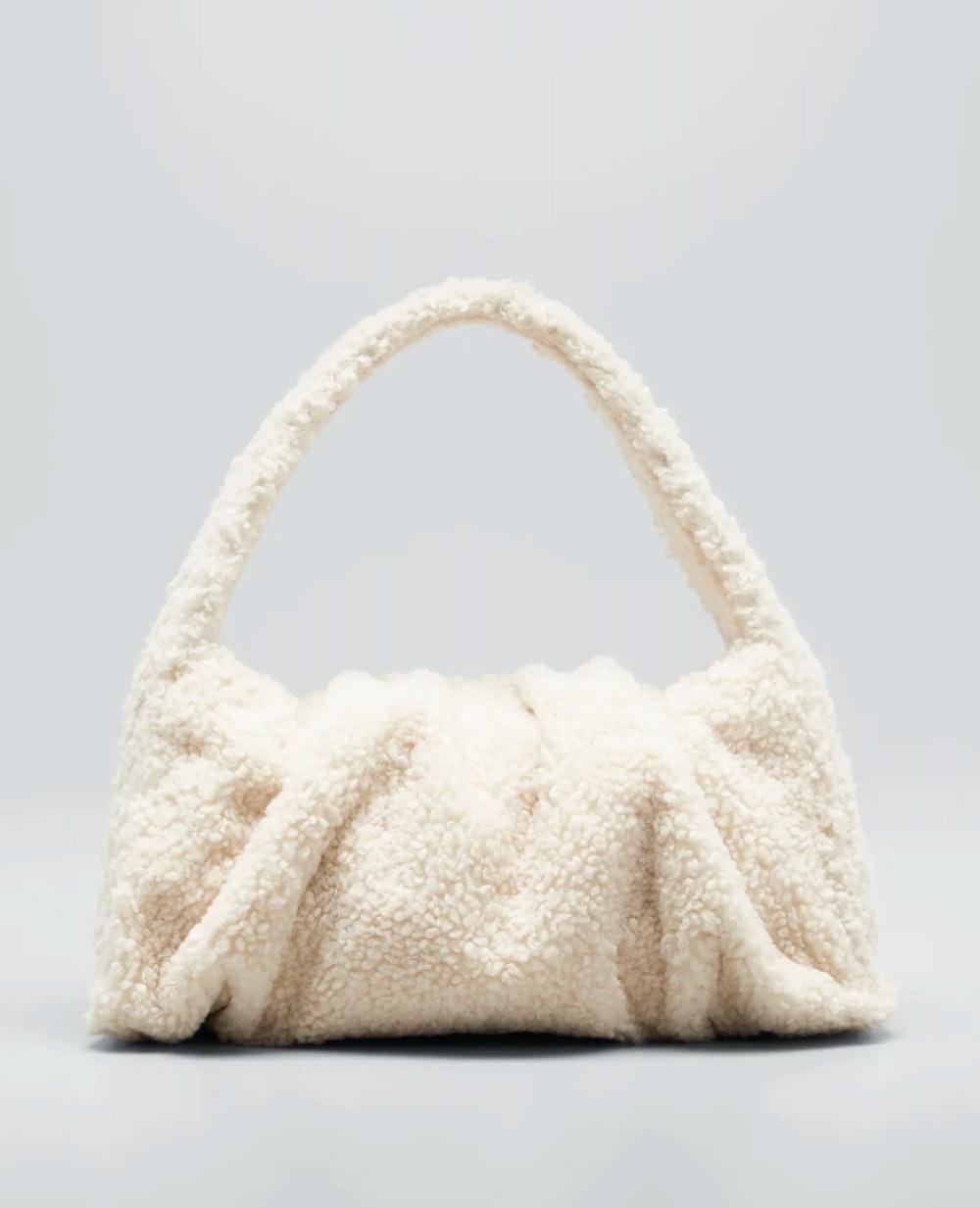 Hera Eco Fur Top Handle Bag