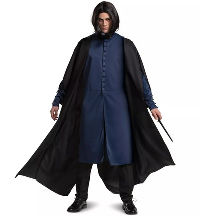 """Adult man wearing Snape costume from """"Harry Potter"""""""