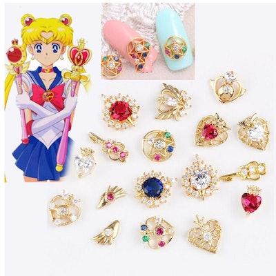 Sailor Moon Cosplay Nail Stickers