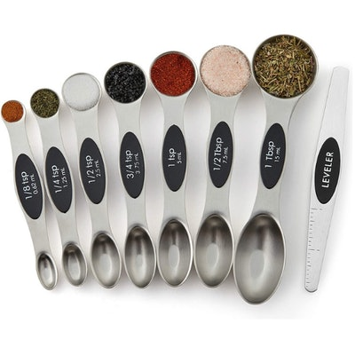 Spring Chef Dual Sided Magnetic Measuring Spoons (Set of 8)