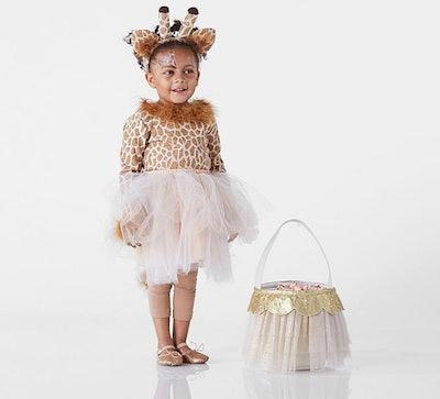 Toddler Giraffe Tutu Halloween Costume