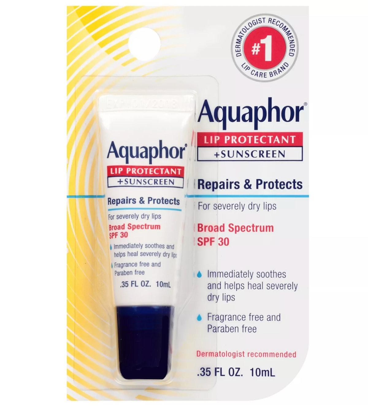 Aquaphor Lip Protectant + Sunscreen Lip Balm - SPF 30