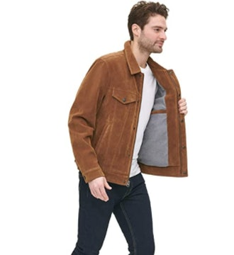 Levi's Legacy Faux Leather Classic Trucker Jacket