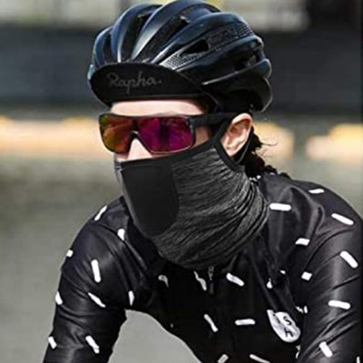 LUXSURE Neck Gaiter With Filter And Ear Loops