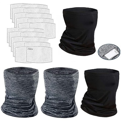 HIG Neck Gaiters And Filters (4-Pack)