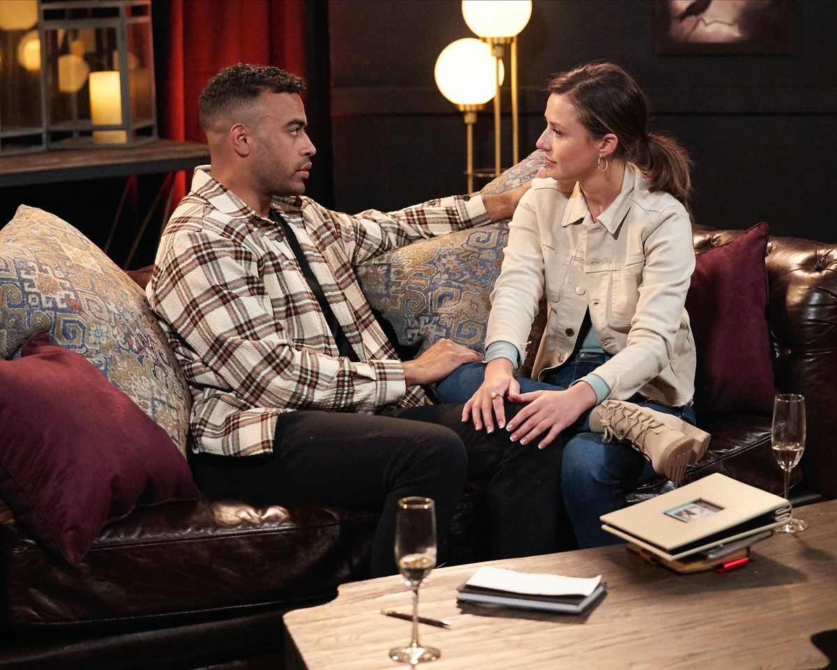 Justin Glaze and Katie Thurston on Season 17 of 'The Bachelorette'