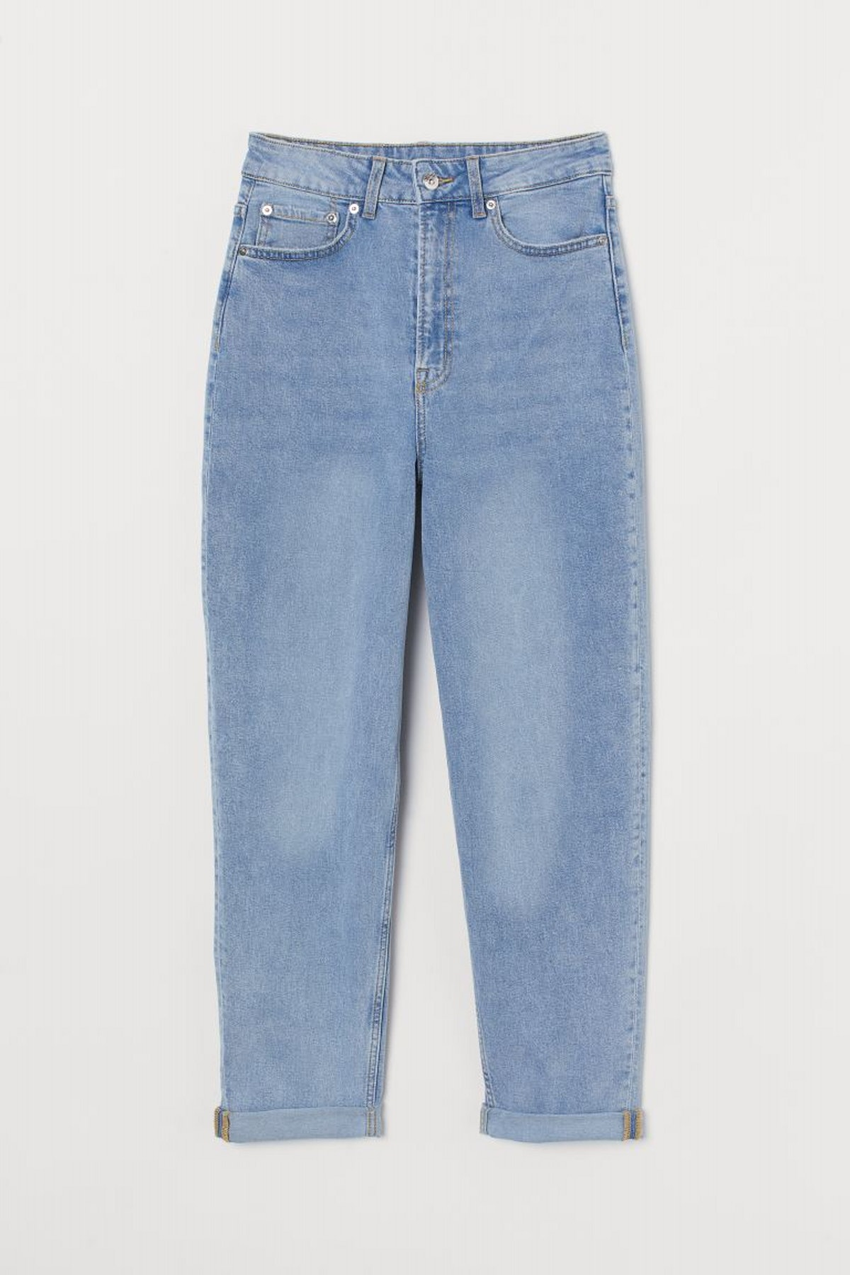 Mom High Ankle Jeans from H&M.
