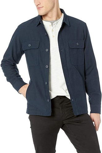 Goodthreads Military Broken Twill Shirt Jacket