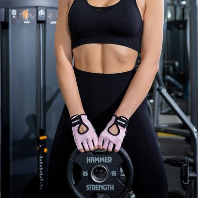 KANSOON Fingerless Weight Lifting Gloves