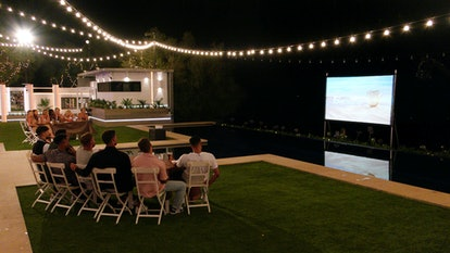 """Mad Movies"" night at the 'Love Island' villa 2021"