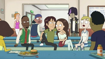rick and morty bruce chutback tricia