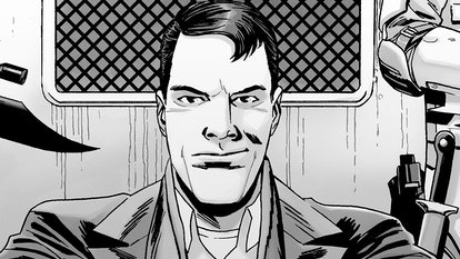 Lance made his 'Walking Dead' comics debut in 2018.