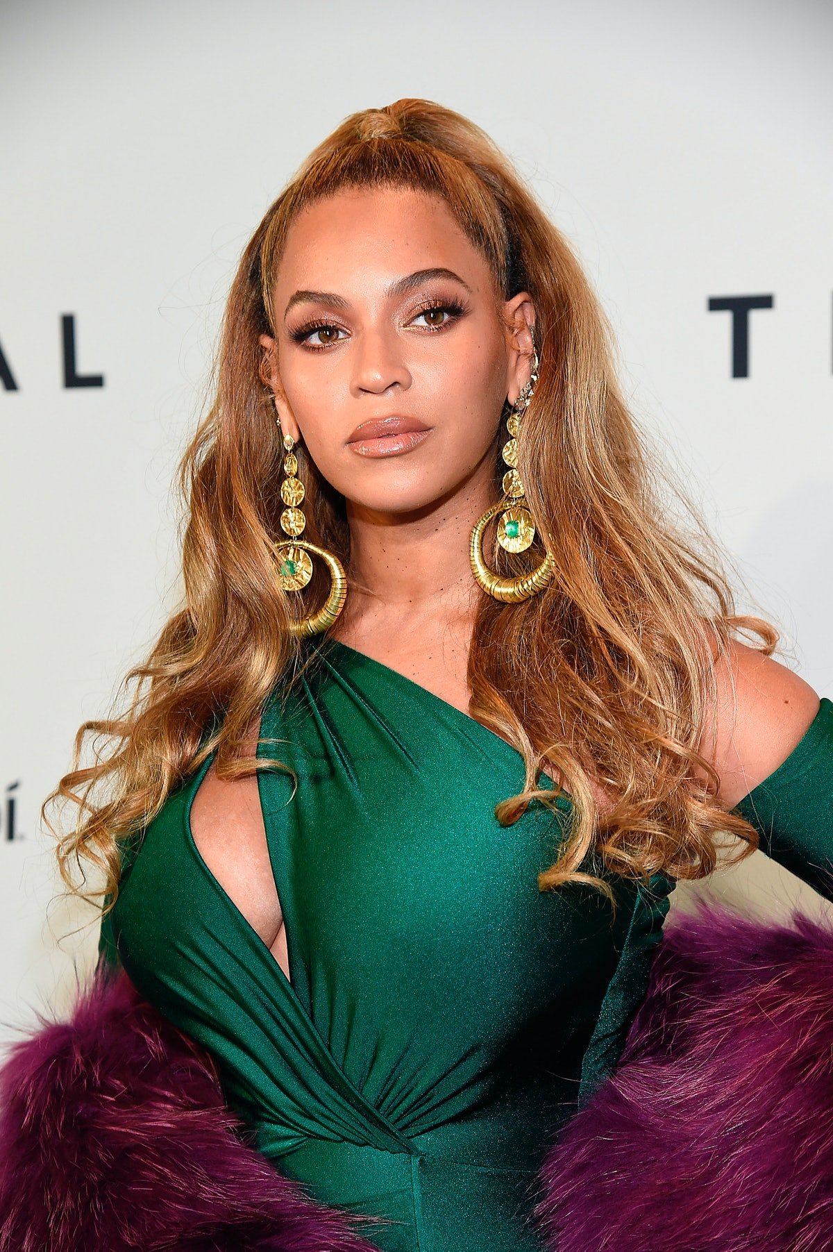 Beyoncé attends TIDAL X: Brooklyn at Barclays Center on October 17, 2017.