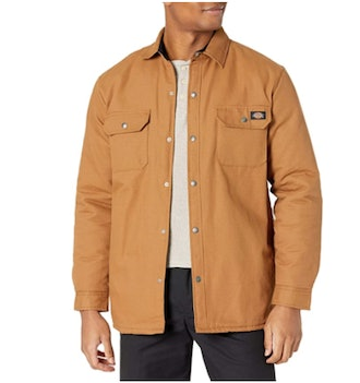 Dickies Flannel Lined Duck Shirt Jacket