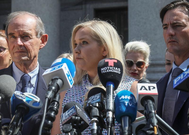 Virginia Giuffre at press conference