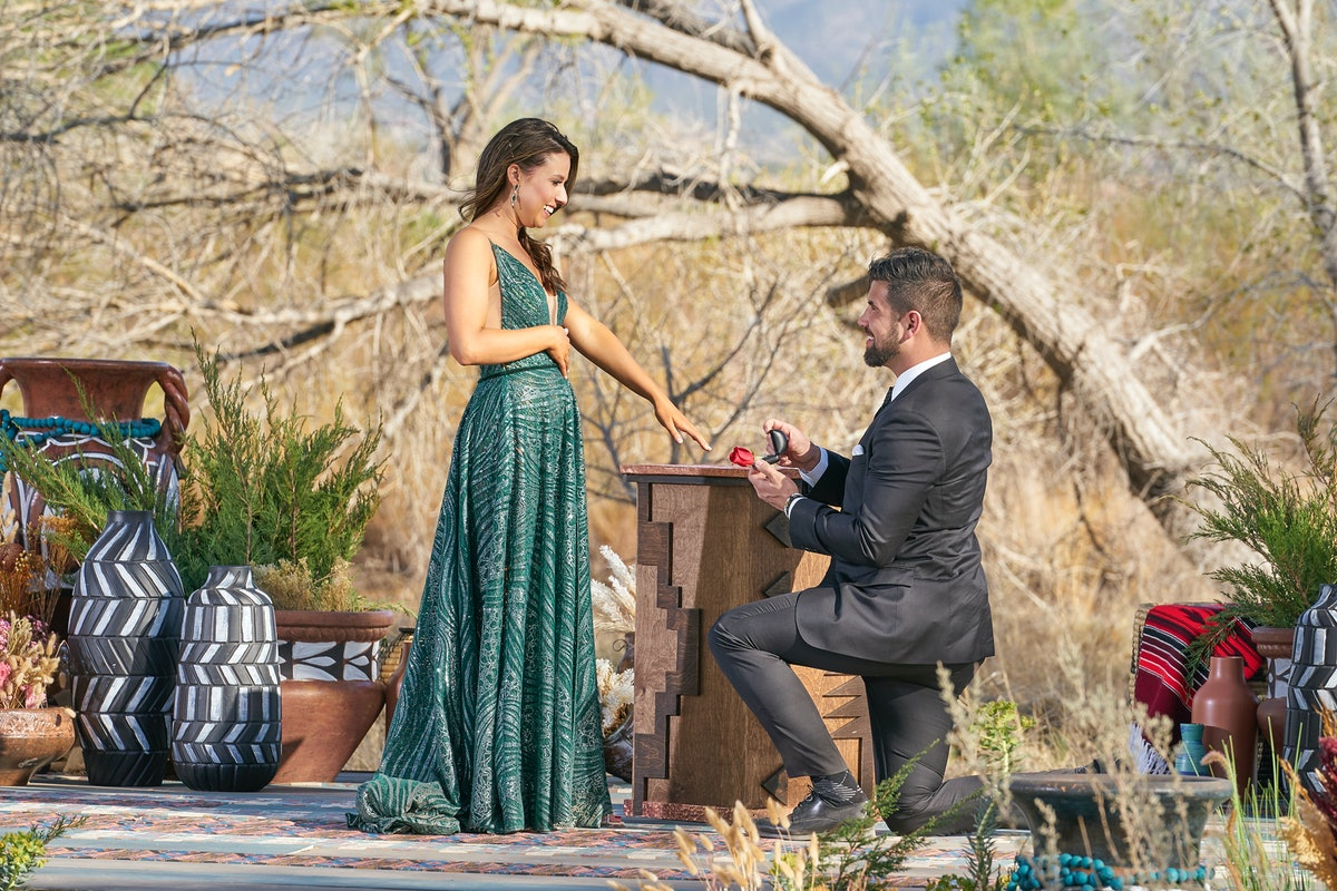Katie Thurston and Blake Moyne's proposal body language is full of mixed messages.