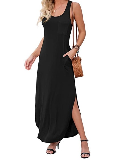 GRECERELLE Maxi Dress with Pocket