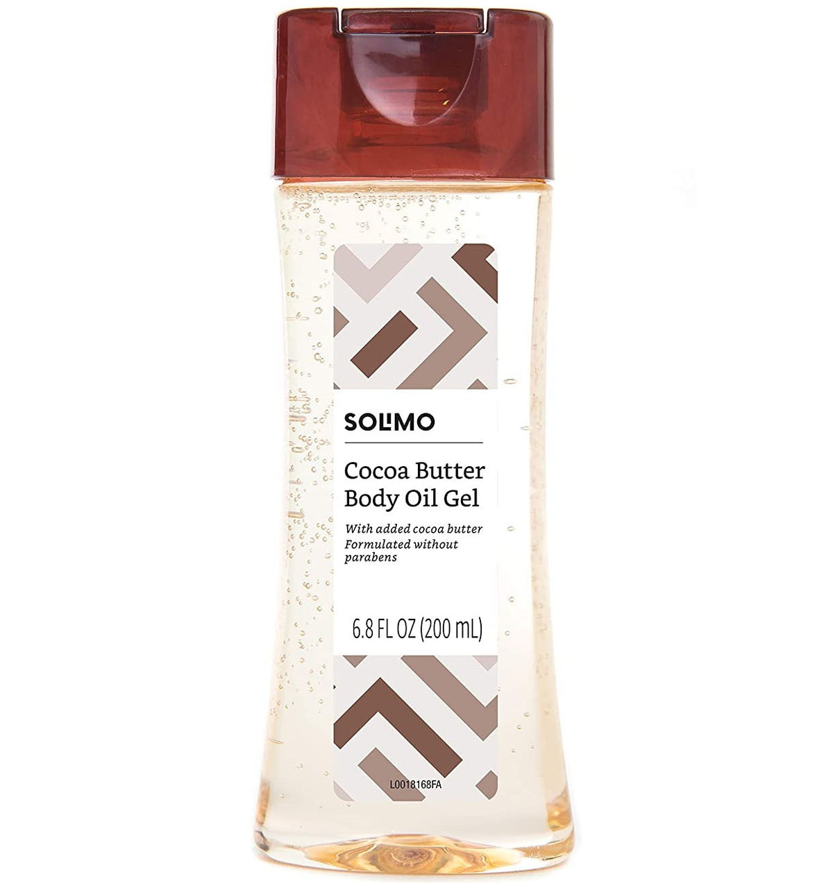 Solimo Cocoa Butter Body Oil Gel