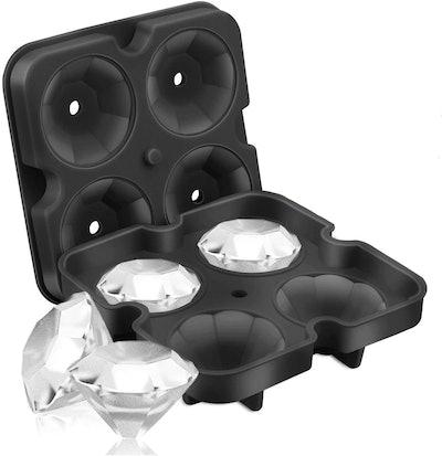 SAWNZC Diamond Ice Cube Molds