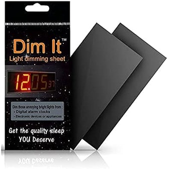 Dim It Light Dimming Sheets