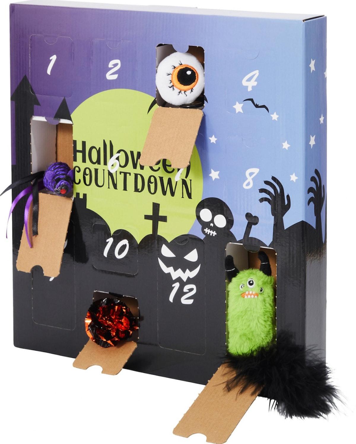 Frisco Halloween 13 Day Cat Toys Advent Calendar