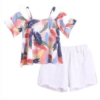 Summer T-shirt and Shorts Set