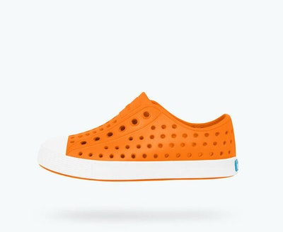 rubber slip on sneaker with holes in it from Native