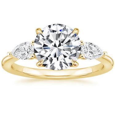 Opera Diamond Engagement Ring