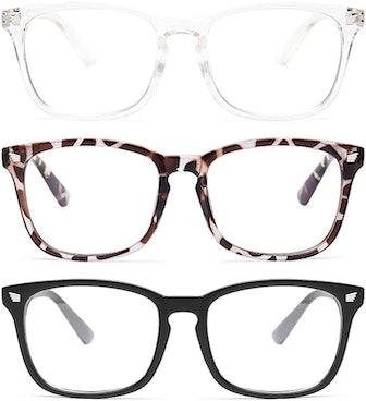 Gaoye Blue Light Blocking Glasses (3-Pack)