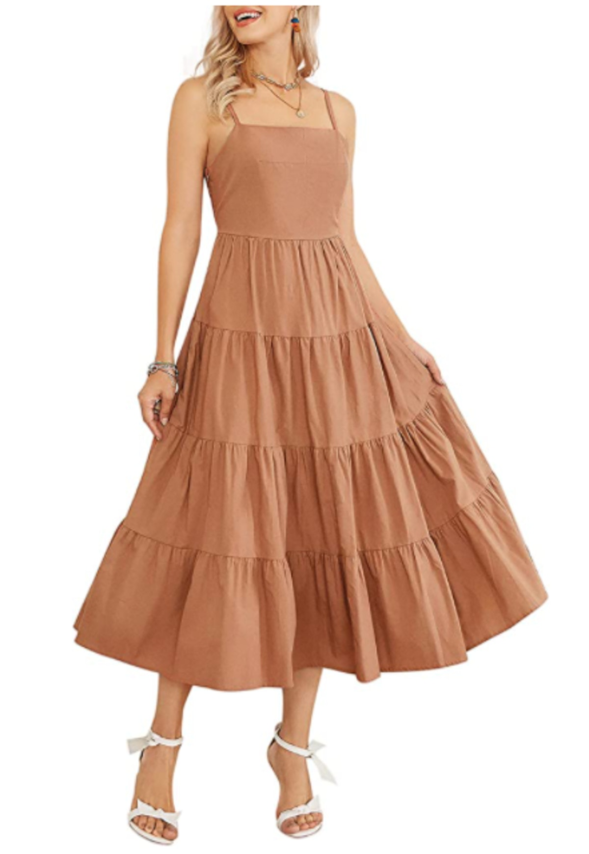 Fashionme Tiered Maxi Dress