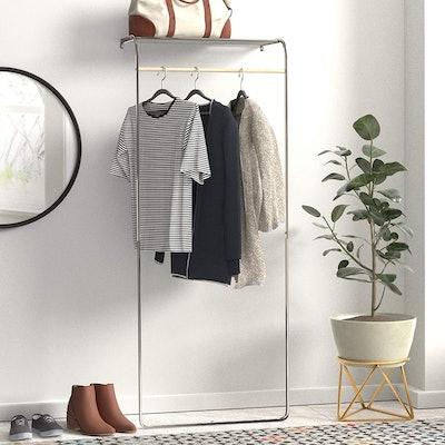 Amazon Basics Leaning Garment Rack