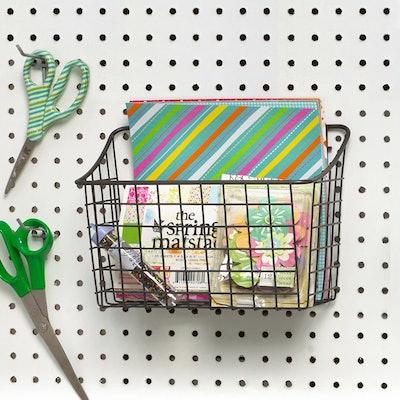 Spectrum Diversified Wall Mount Wire Basket